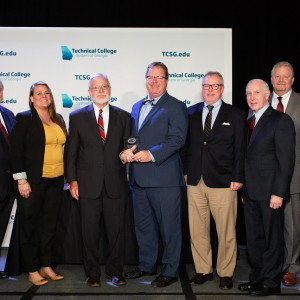 Photo for Colquitt Regional Medical Center recognized as Technical College Foundation Association's Benefactor of the Year