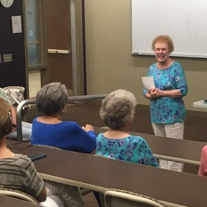 Photo for Author Joy Jinks Speaks at SRTC