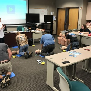 Photo for Economic Development in Thomasville Trains Wildlife Management Students in CPR