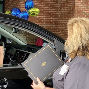 Photo for Nursing Students Honored in Drive-Through Pinning Ceremony at SRTC-Moultrie