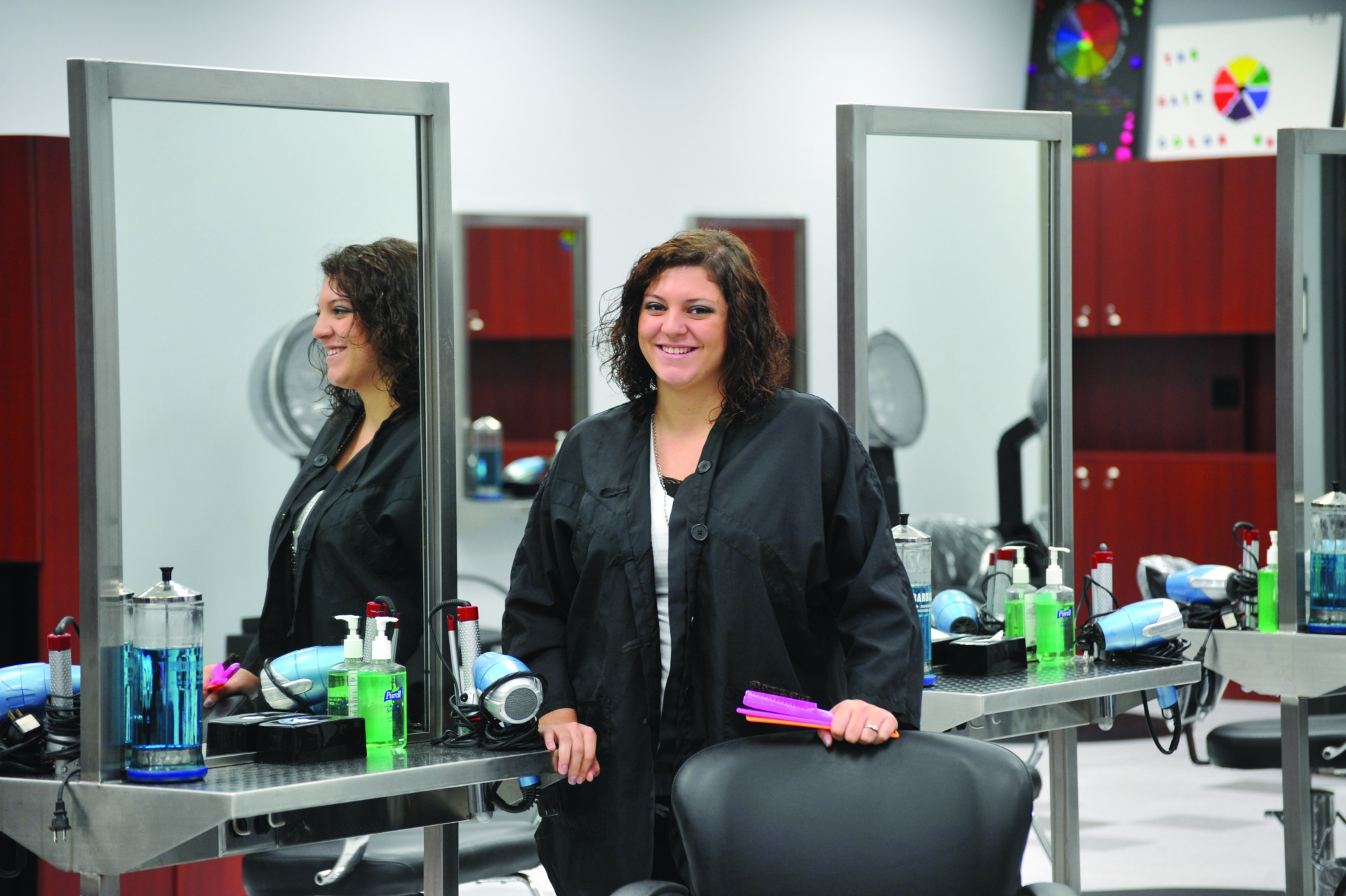 Learn more about Cosmetology Services offered at select SRTC locations