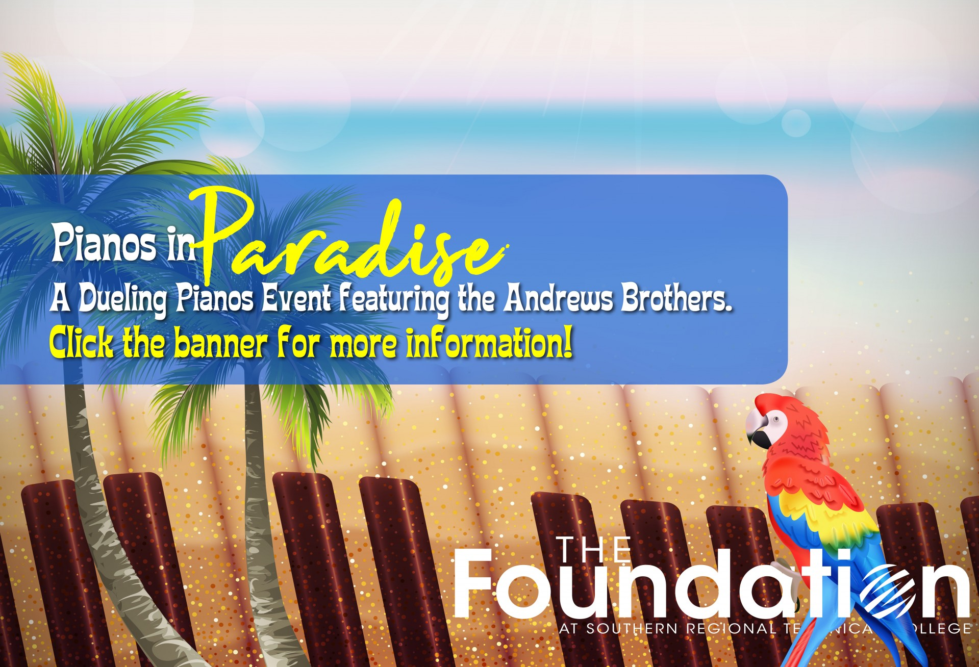 Pianos in Paradise SRTC Foundation Fundraiser