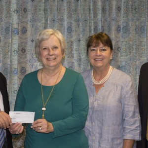 Moultrie Federated Guild Presents Check to SRTC for Colquitt County Student Scholarships