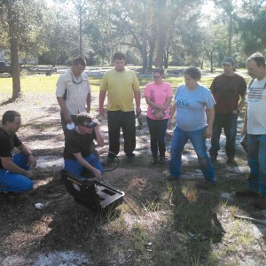 Fish and Wildlife Management Students Visit Reed Bingham State Park