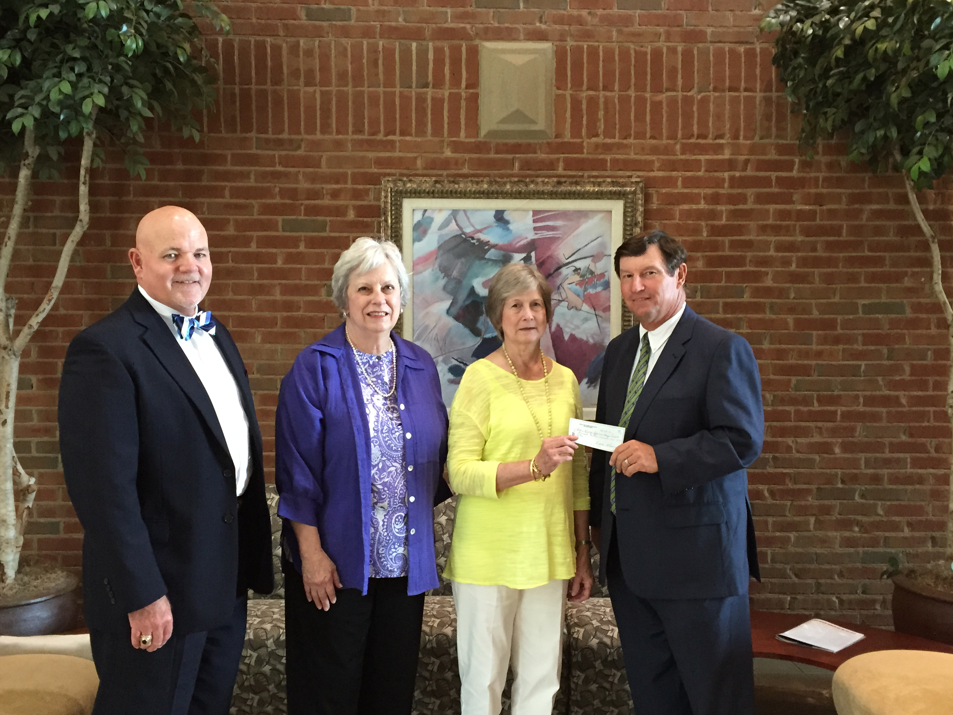 Moultrie Federated Guild Donation to SRTC Foundation