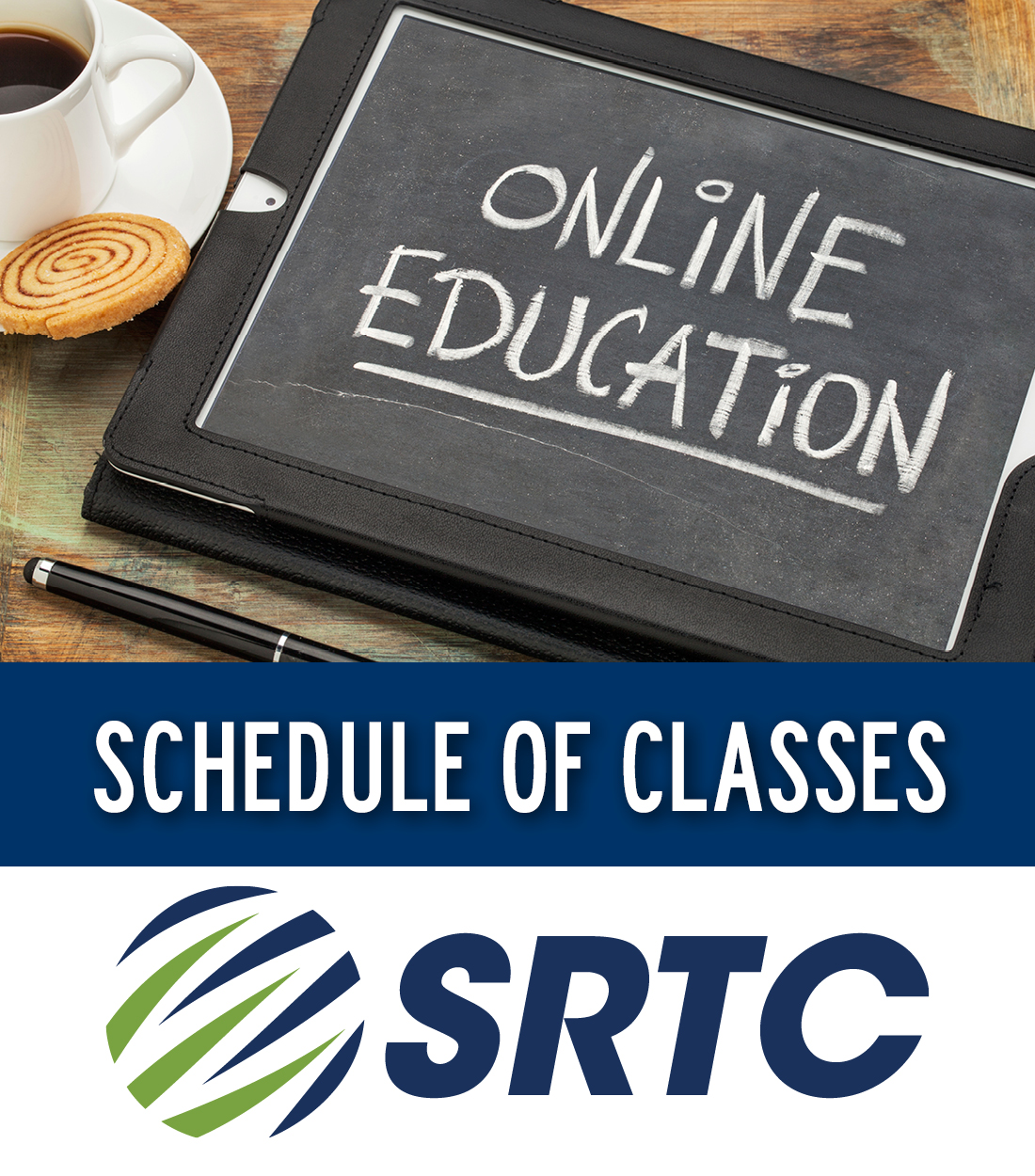 SRTC Schedule of ONLINE Classes